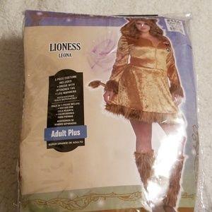 Lioness Plus Size Costume Sz18/20